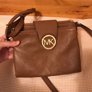 Michael Kors Tan Crossbody